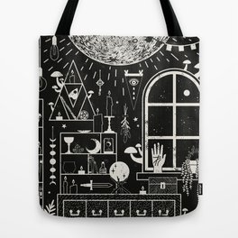 Moon Altar Tote Bag