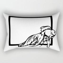 Fish Friend Rectangular Pillow