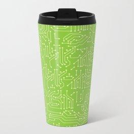 Circuit Board Metal Travel Mug