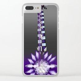 Fusion Keyblade Guitar #109 - Two Become One & Xigbar's Arrowgun Clear iPhone Case