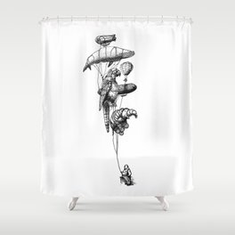 The Helium Menagerie Shower Curtain