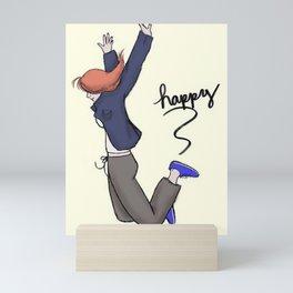 Jumping for Joy! Mini Art Print