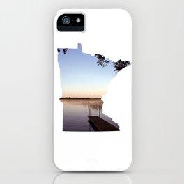 Lake Minnesota iPhone Case