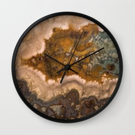 Idaho Gem Stone 17 Wall Clock