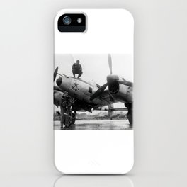 370th Fighter Group P 38 Texas Jewell II iPhone Case