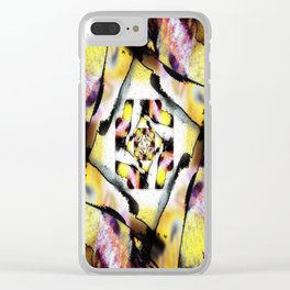 Burnt Clear iPhone Case