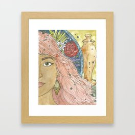 Mary of Bethany Framed Art Print