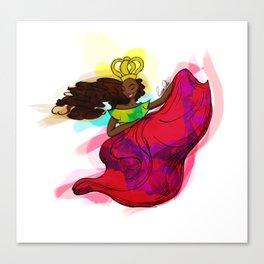 Reina Congo - Congo Queen Canvas Print