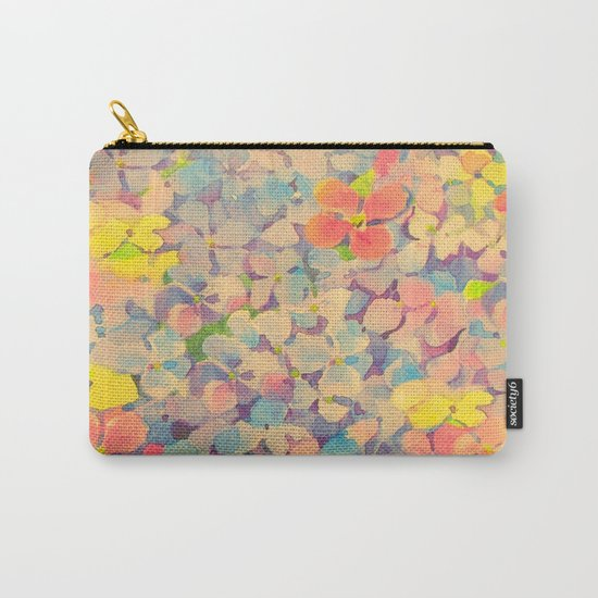 Summer Time Floral  Carry-All Pouch