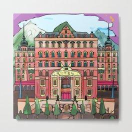 Swiss Hotel Metal Print