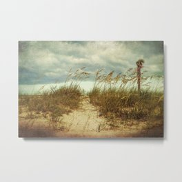 Beach Path Metal Print