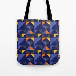 Retro Triangle Block Pattern 1 Tote Bag