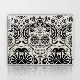 Sugar Skull Art B&W Laptop & iPad Skin