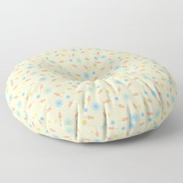 Brux & Boggle #1: Rat Sprinkles (cream) Floor Pillow