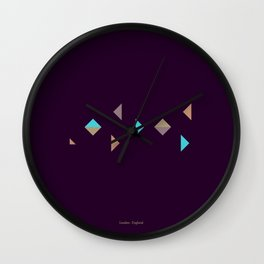London - Citries Project Wall Clock