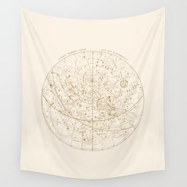 Visible Heavens - Gold Wall Tapestry
