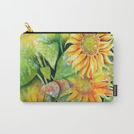 Colorful Sunflowers Carry-All Pouch