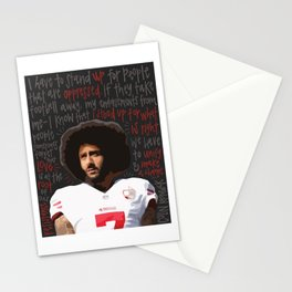 Colin Kaepernick. Stationery Cards