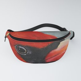 Male Cardinal Fanny Pack