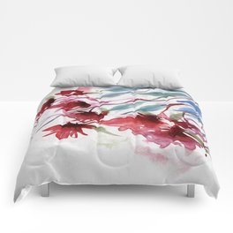 Weeping Red Comforters