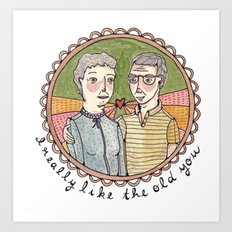 The Old You Art Print