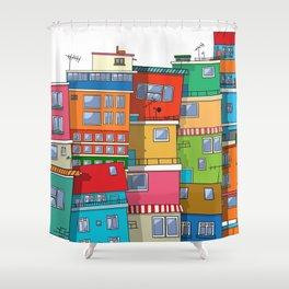 Favela Shower Curtain