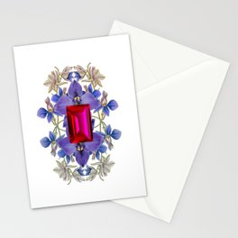 Birth Stone & Flower/JULY  Stationery Cards