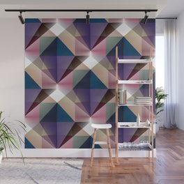 Facets 3 Wall Mural