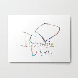 Drawing of Jazzmeia Horn Metal Print