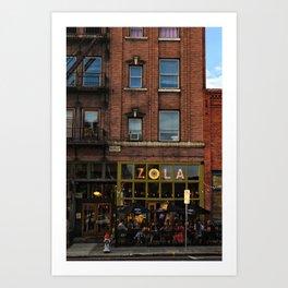 Zola Art Print