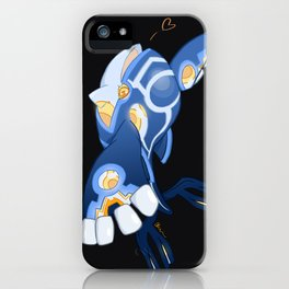 Kyogre - Save the Ocean! iPhone Case