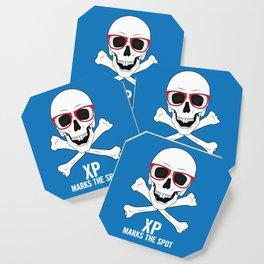 XP Marks the Spot Coaster