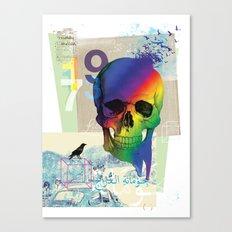 Sweet Death Canvas Print
