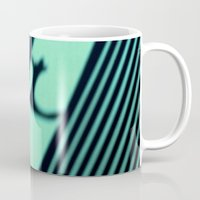 kitty Mugs featuring Kitty by SensualPatterns