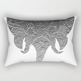 Boho Elephant Rectangular Pillow