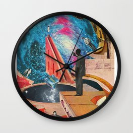 The Institute of Telelevitation at Academe Galaxa Wall Clock