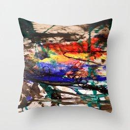 THE THREAD Throw Pillow