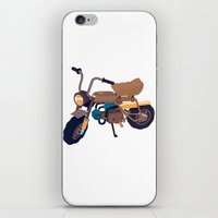 honda iPhone & iPod Skins featuring #1 honda z50 by Brownjames Prints