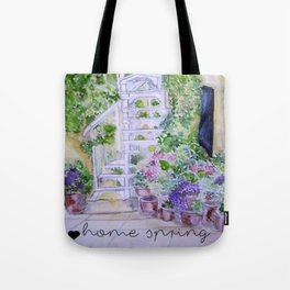 House spring Tote Bag