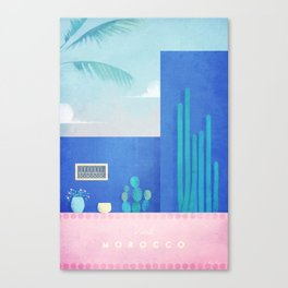 Morocco / Cactus Canvas Print