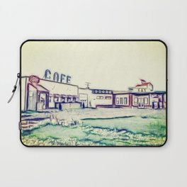 Dog River and Corner Gas Laptop Sleeve