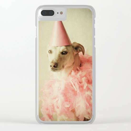 Party Girl Clear iPhone Case