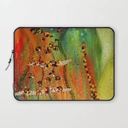 the girl, the harp, the spirit, and the song Laptop Sleeve