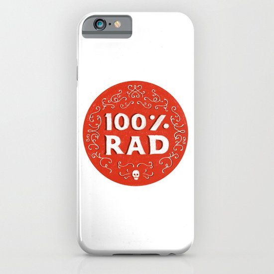 100% Rad iPhone & iPod Case