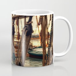 Rigging of Ancient Yachts Coffee Mug