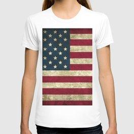 Vintage American flag T-shirt