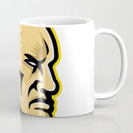 Native American Mohawk Mascot Coffee Mug