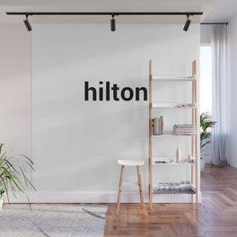 hilton Wall Mural