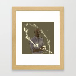 Dr. Alan Deaton Framed Art Print