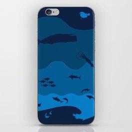 Oceans Alive iPhone Skin